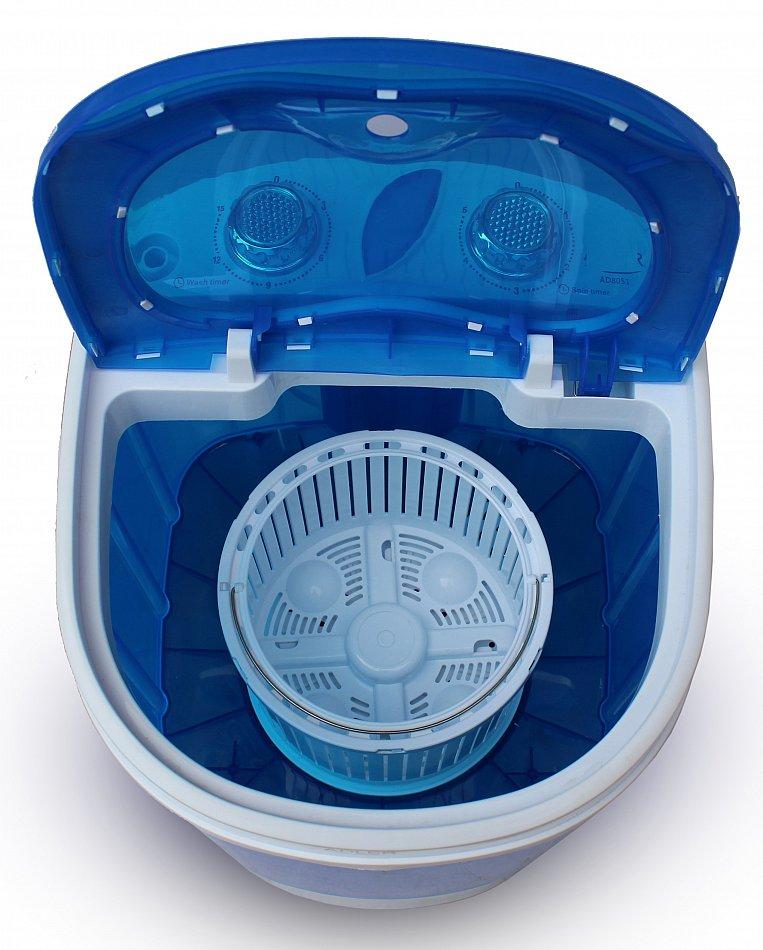 hyundai waschmaschine waschautomat camping toploader mini mit schleuder bis 3kg ebay. Black Bedroom Furniture Sets. Home Design Ideas