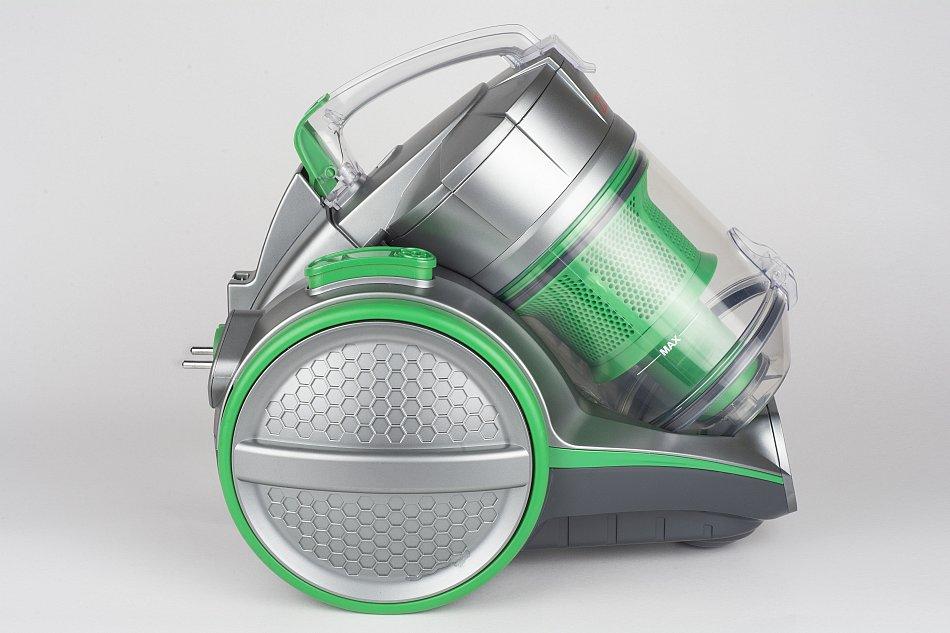 staubsauger doppel zyklon hepa filter beutellos bodensauger 1400 watt neu gr n ebay. Black Bedroom Furniture Sets. Home Design Ideas