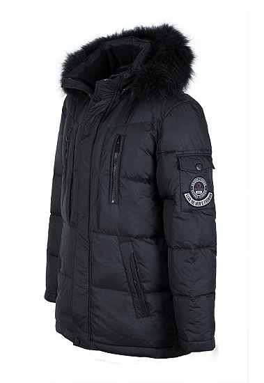 12123 herren daunenjacke winterjacke daunen winter parka. Black Bedroom Furniture Sets. Home Design Ideas