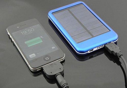 5000mah powerbank solar ladeger t akku externer 2 usb f r. Black Bedroom Furniture Sets. Home Design Ideas