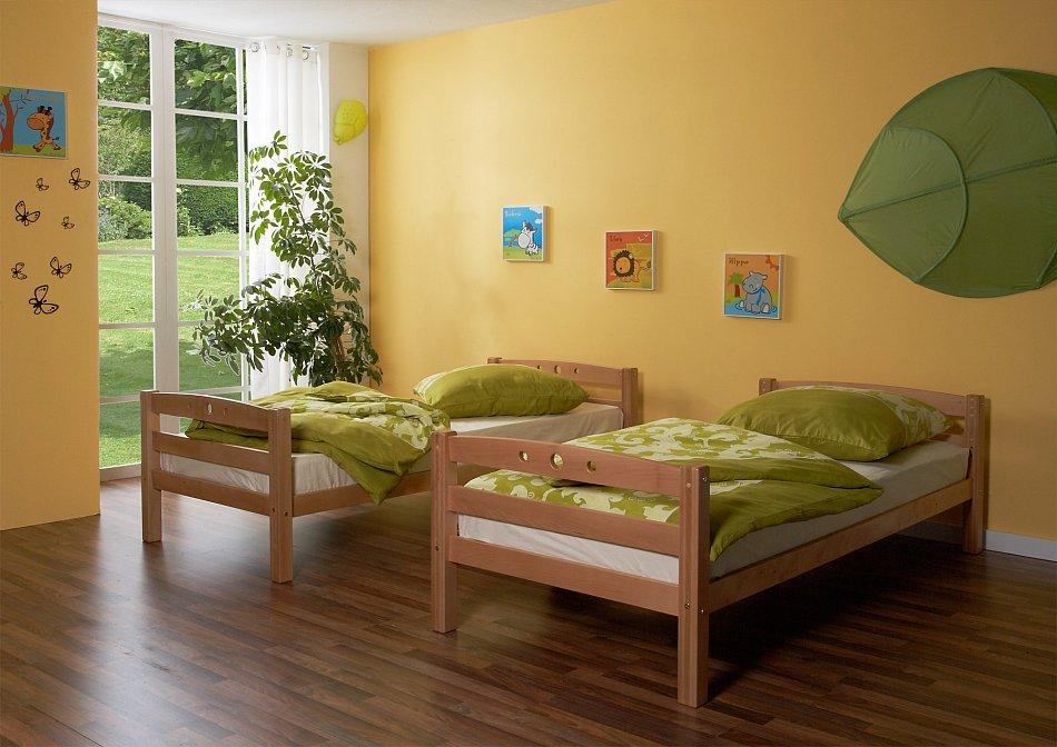 angebot massivholz etagenbett sitzgelegenheit oliver leon. Black Bedroom Furniture Sets. Home Design Ideas