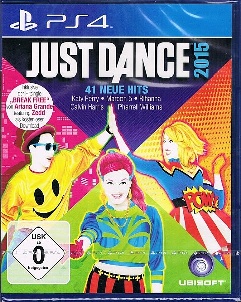 playstation 4 ps4 spiel just dance 2015 tanzspiel neu ebay. Black Bedroom Furniture Sets. Home Design Ideas
