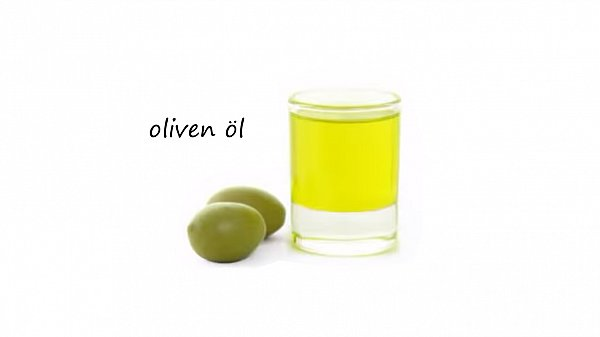 Olio di ricino e applicazione di olio di capelli di bardana