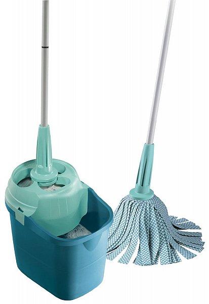 leifheit 55400 clean twist system mop bodenreiniger set bodenwischer putzeimer ebay. Black Bedroom Furniture Sets. Home Design Ideas